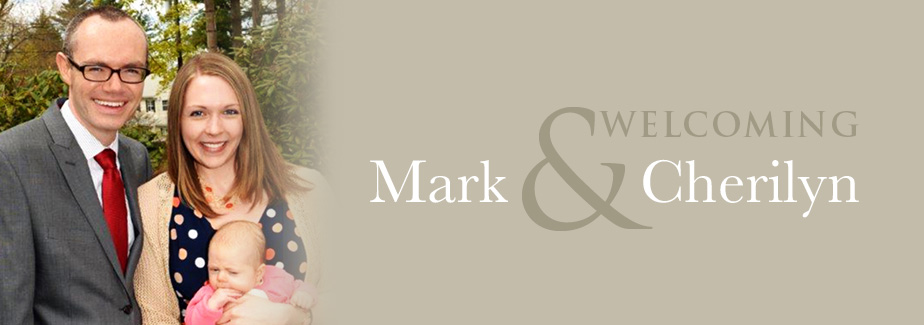 Welcome Mark Howard as our new Pastor